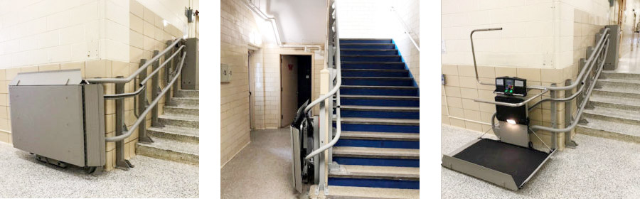August project of the month wheelchair lift images