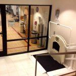 Sheraton gym wheelchair platform on Bedco Mobility website