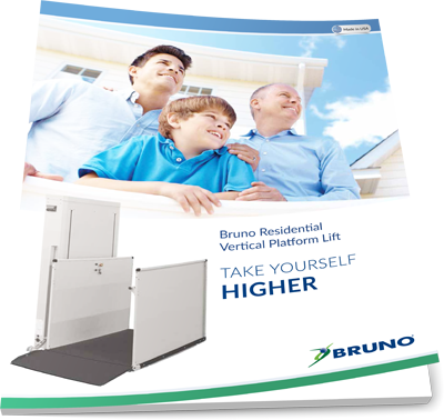 Bruno Residential Vertical Platform Lift brochure