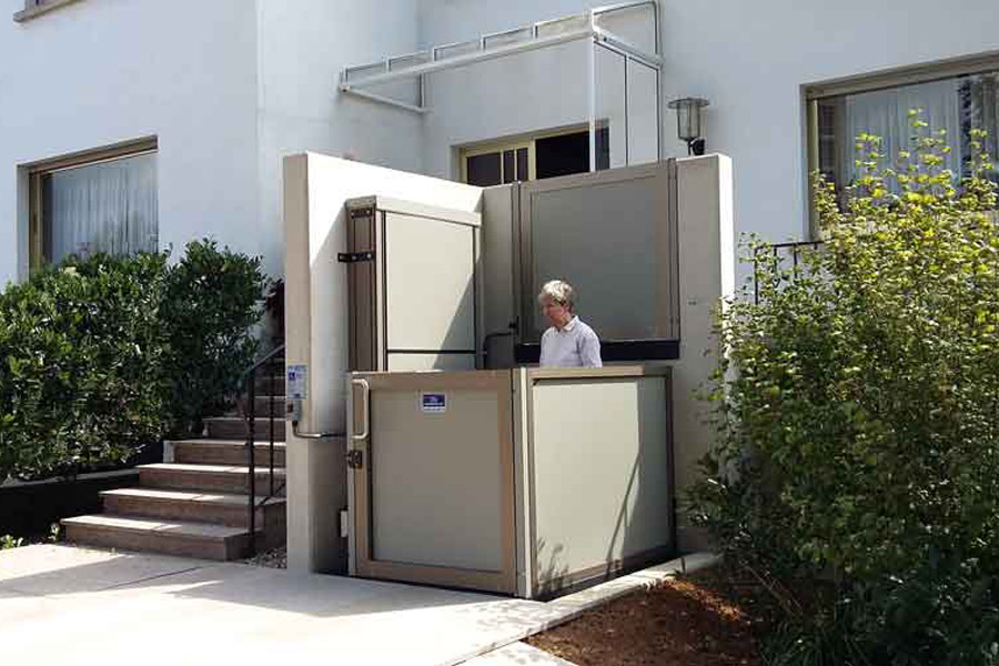 Genesis opal wheelchair lift on Bedco Mobility website DC MD VA