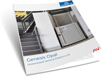 Genesis opal brochure on Bedco Mobility website DC MD VA