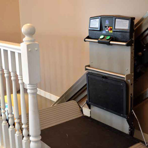 residential wheelchair lift on Bruno website