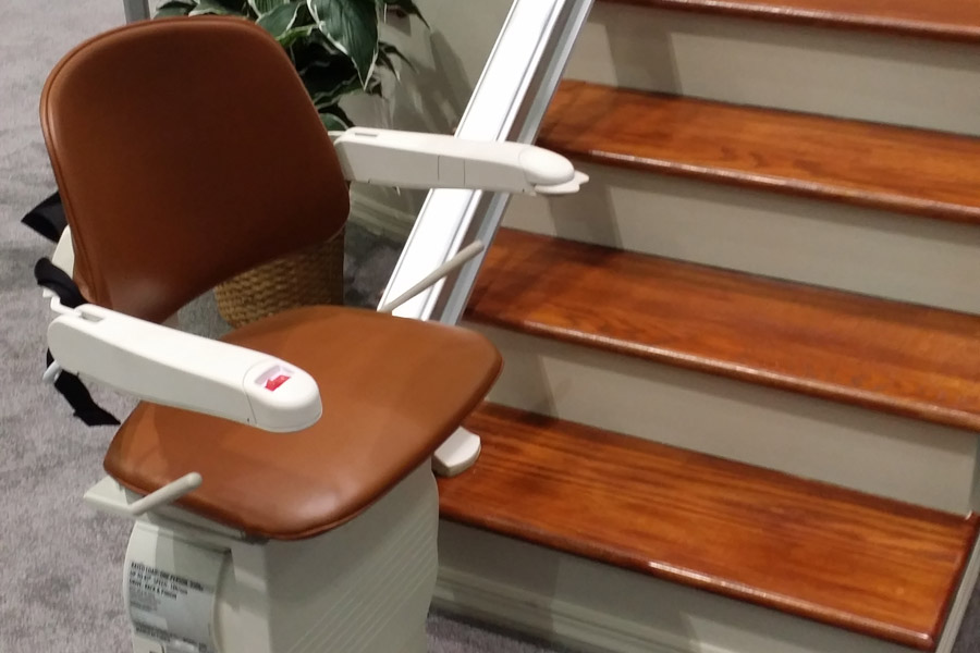 stairlift on Bedco Mobility website