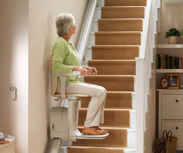 residential stairlift image on Bedco Mobility website