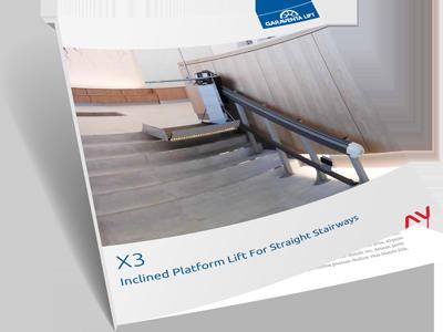 Inclined Platform Lift brochure on Bedco Mobility website