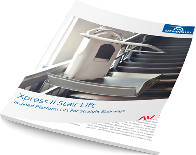 xpress ii wheelchair lift brochure mage on Bedco Mobility website