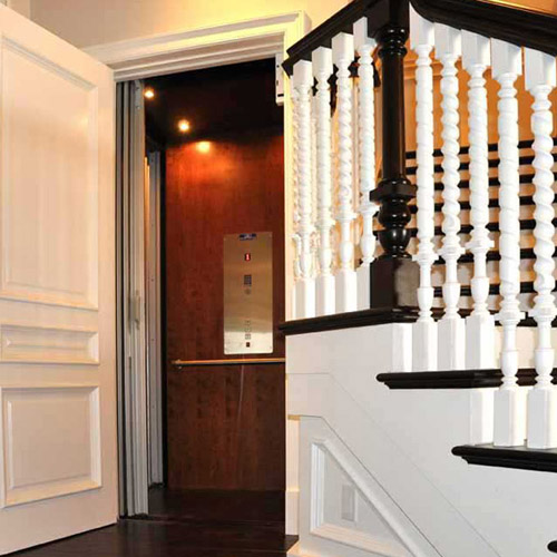 Garaventa residential elevator on Bedco Mobility DC MD VA website