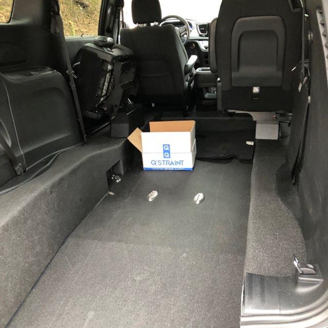 interior of durafloor wheelchair van
