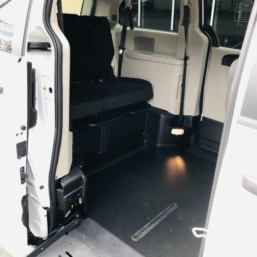interior of braun companionvan