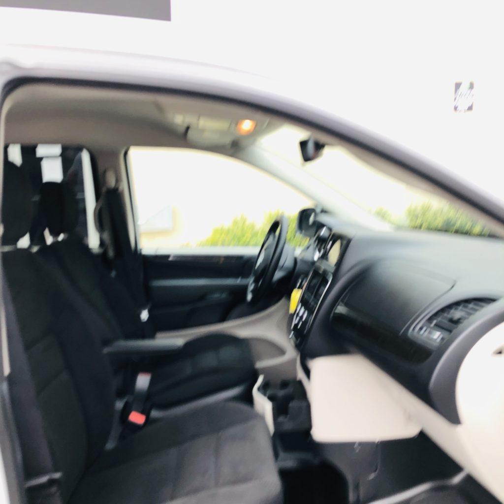 front seats of companion van