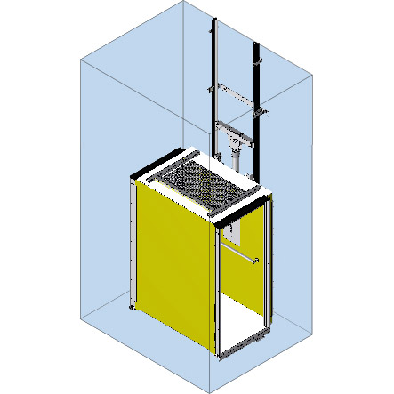 garaventa CPL lift image on bedco mobility website