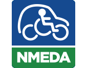 NMEDA logo image on Bedco Mobility website