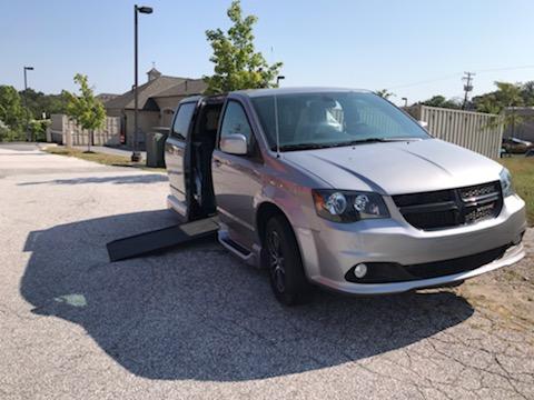 side of accessible van open