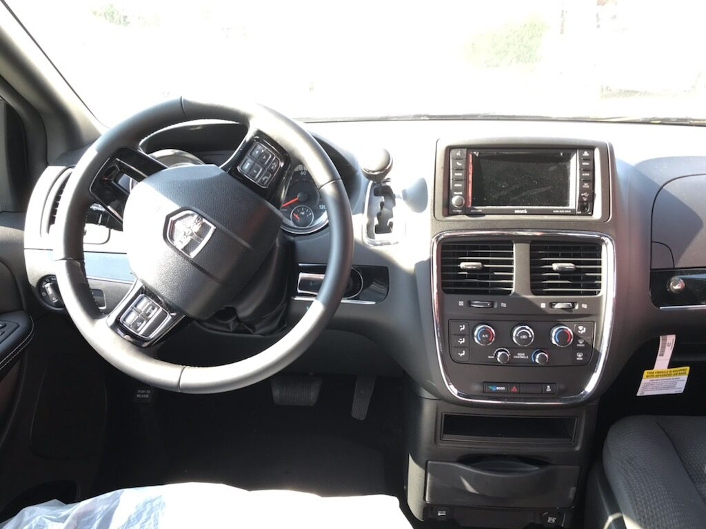 minivan dash consol