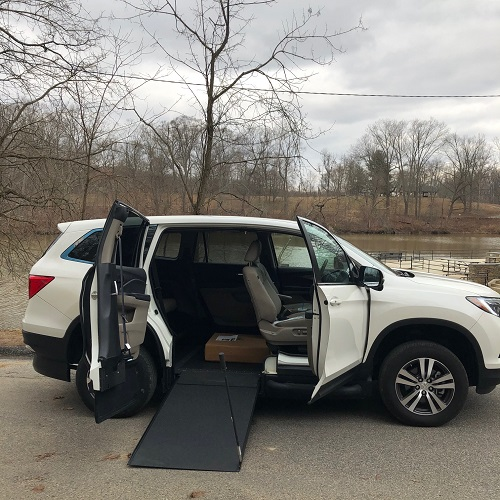 honda pilot accessible SUV