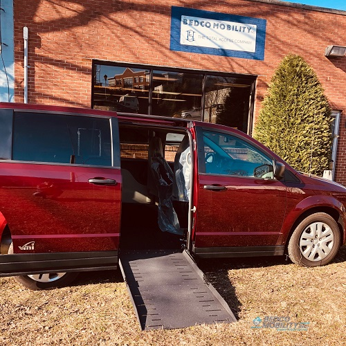 Grand Caravan Accessible Ramp Deployed