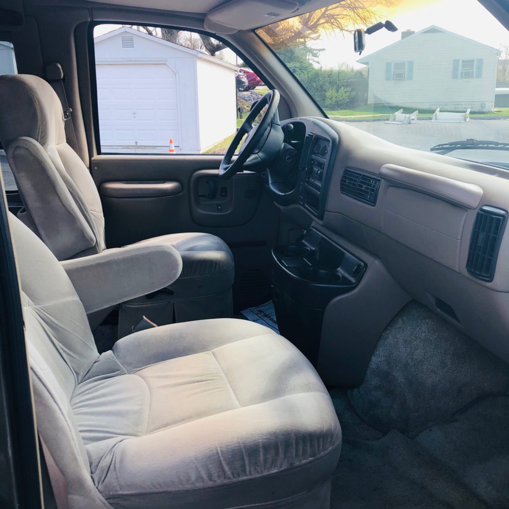 front seats of chevy express