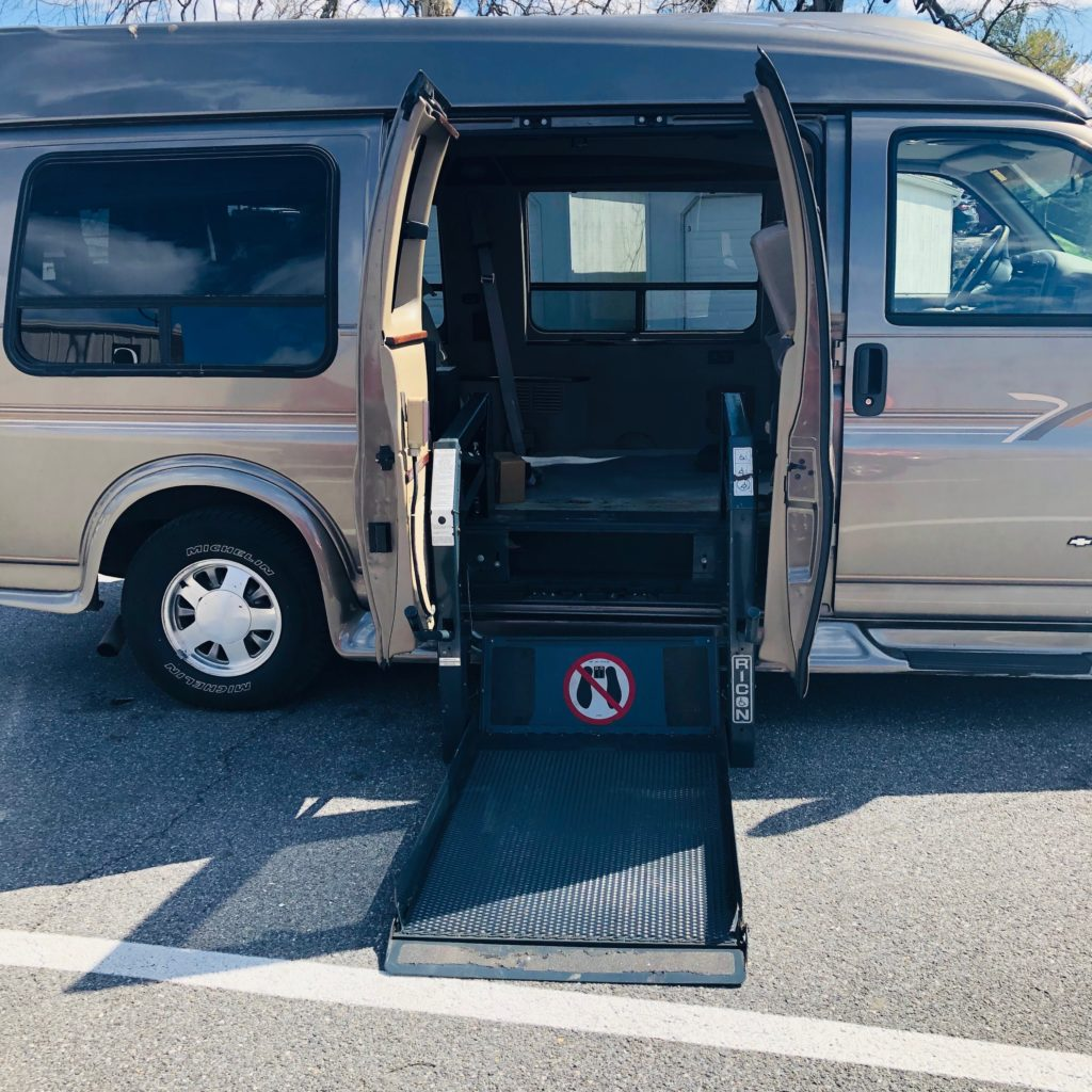 chevy express ricon wheelchair lift