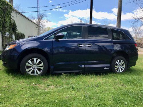 Honda odyssey exterior blue