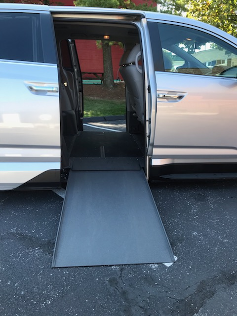 accessible van ramp