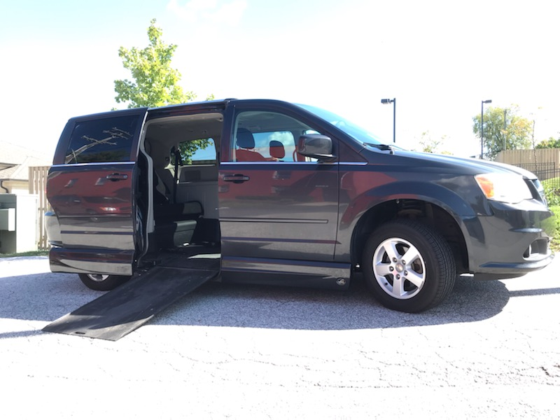 Dodge VMI Crew Van Ramp