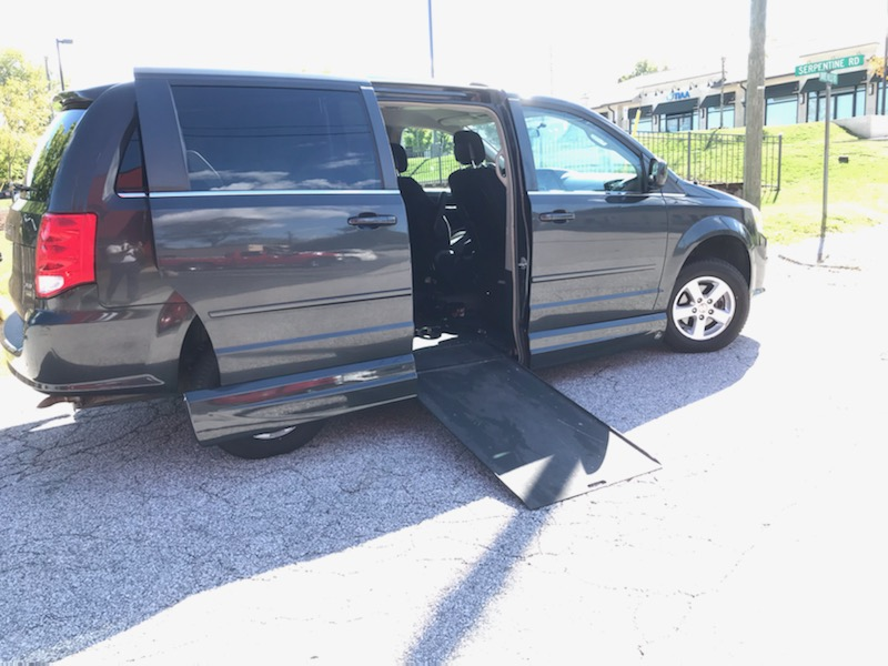 Dodge VMI Crew wheelchair ramp