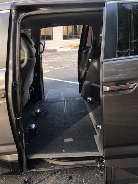 accessible van interior